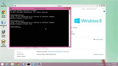 Compile and Run Java on Windows Command Prompt - YouTube