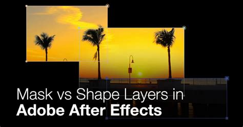 Mask vs Shape Layers in After Effects - Premiumbeat