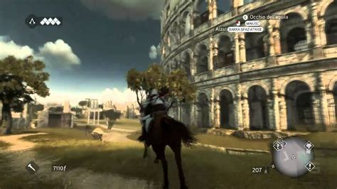 Assassin's Creed Brotherhood PC Gameplay Roma colosseo