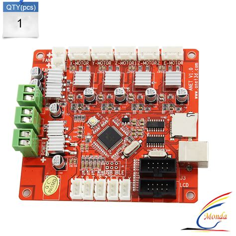 2017 Updated 3D Printer Control Motherboard for Anet V1