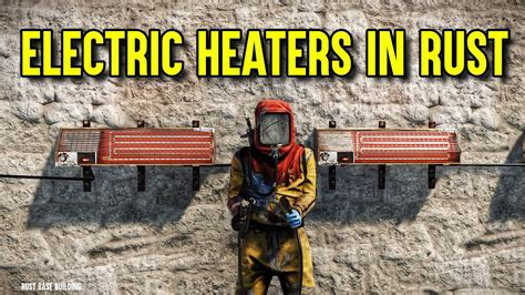 Rust Electric Wall Heater - Rust Base Building (Rust