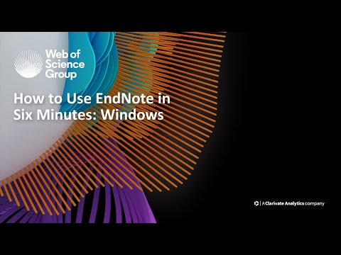 Inserting & Deleting Citations with EndNote - YouTube