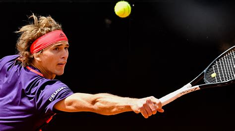 Zverev's first major casualty at Italian Open | The
