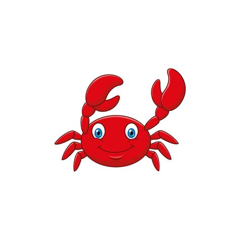 Sticker océan crabe rouge - Color-stickers