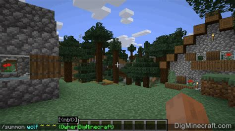 How to Summon a Tame Wolf in Minecraft