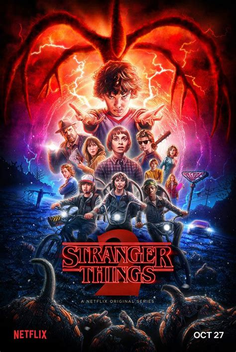 Netflix releases new poster for Stranger Things season 2