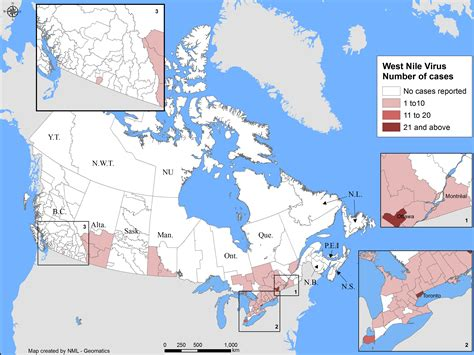 West Nile virus national surveillance report: October 1 to