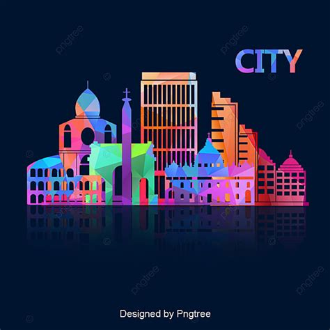 Vector Dubai Tower, City, Building, High Rise PNG