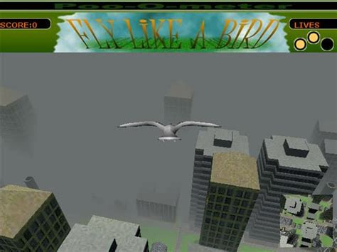 Fly like a Bird 1 game - FunnyGames