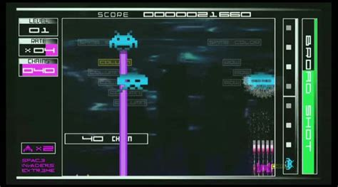 Gameplay Space Invaders Extreme : Des envahisseurs qui