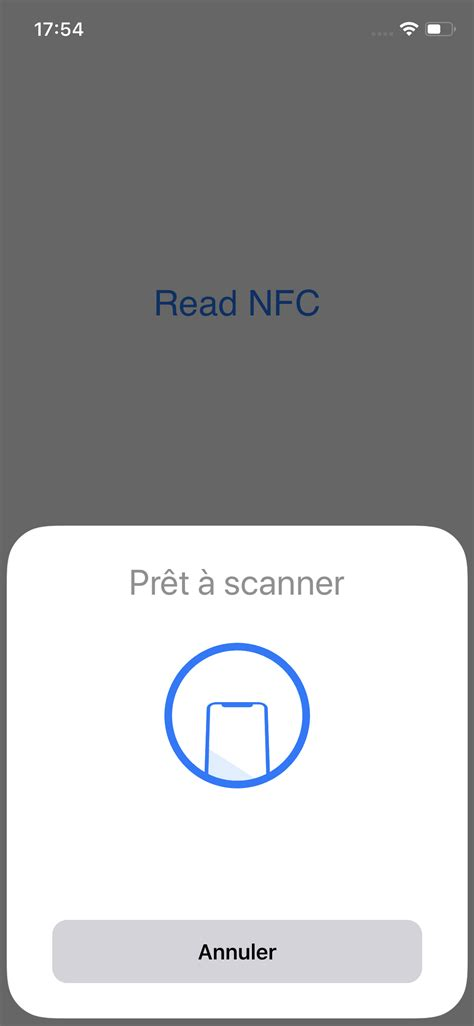A experimental project about Android NFC functionality