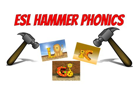 Hammer Phonics - ESL Kids Games : ESL Kids Games