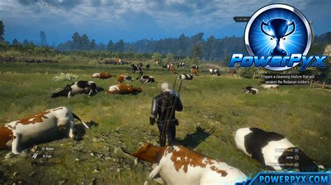 The Witcher 3 Hearts of Stone DLC - Moo-rderer Trophy