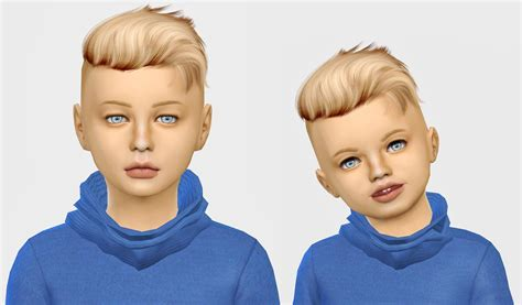 Sims 4 Hairs ~ Simiracle: Wings Os0917 hair retextured