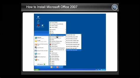 How to Install Microsoft Office 2007 - YouTube