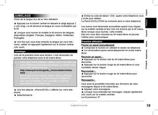 Parrot CK3000 User Manual by Talk Audio Online - Issuu