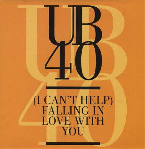 UB40 - Can't Help Falling in Love - Chanson d'Amour