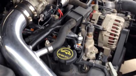 2002 Ford Mustang GT broken manifold heater inlet repaired