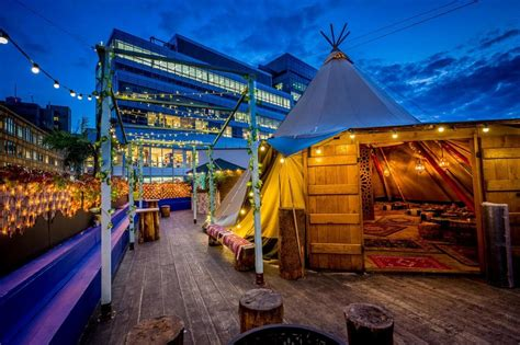 Is this Hoxton pop-up the coolest rooftop bar in London