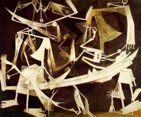 """Wifredo Lam, """"The Third World"""" (1965, oil on canvas)"""