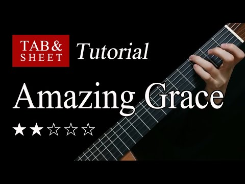 Amazing grace Partition gratuite | Accords de guitare