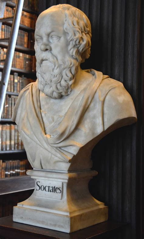 Bath, Art and Architecture: Bust of Socrates in the Long
