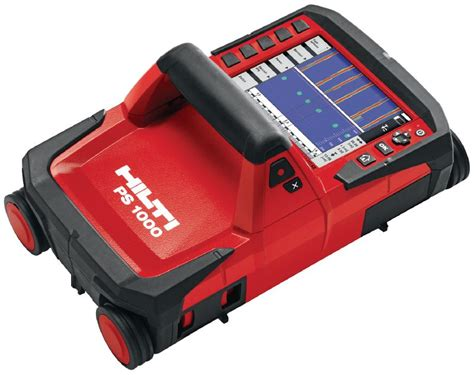 PS 1000 X-Scan system - Concrete Scanners - Hilti United