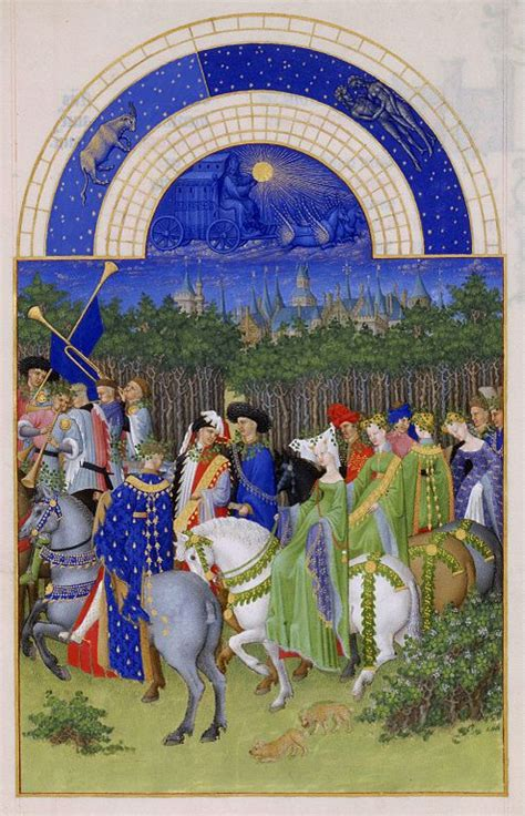 Labors of the Months from the Très Riches Heures – The