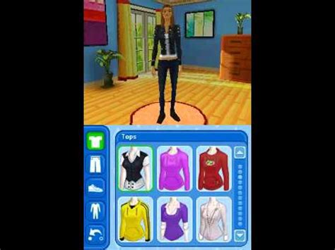 The Sims 3 Nintendo Ds Gameplay (Part 1) - YouTube