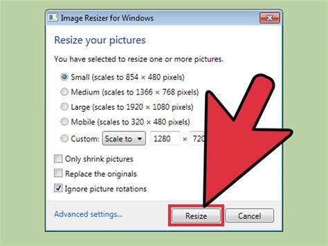 How to Resize Photos with Image Resizer for Windows: 9 Steps