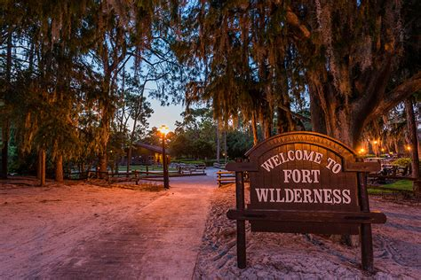 It's a Peaceful Morning at Disney's Fort Wilderness Resort