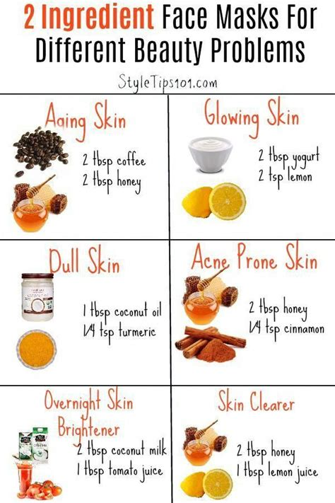 Easy Facemask Recipes To Make At Home | Acne face mask