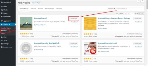 How to Use WordPress Contact Form 7 Plugin On Your Website