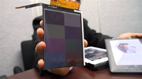 E Ink Triton 2 next generation color display - YouTube