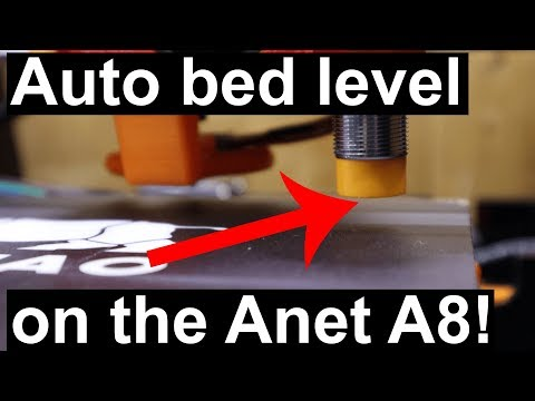 Anet A8 3DTouch/BLTouch Auto Leveling Sensor Bracket by