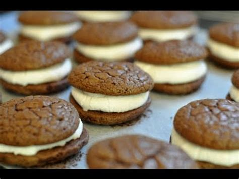 Recette tendance des whoopie cakes ou whoopie pies - YouTube