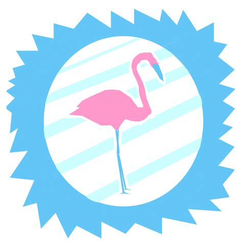 flamingo birthday #3 : flamant rose et lilas des indes