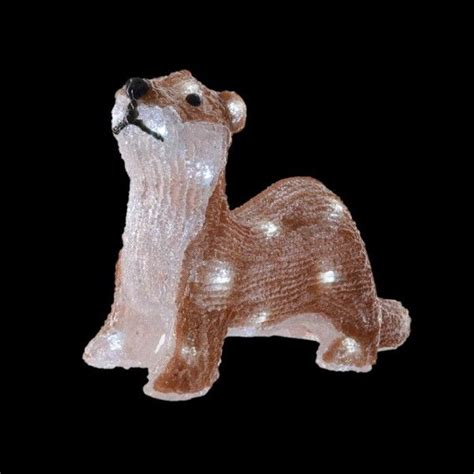 Loutre lumineuse Blanc froid 30 LED - Personnage, animaux