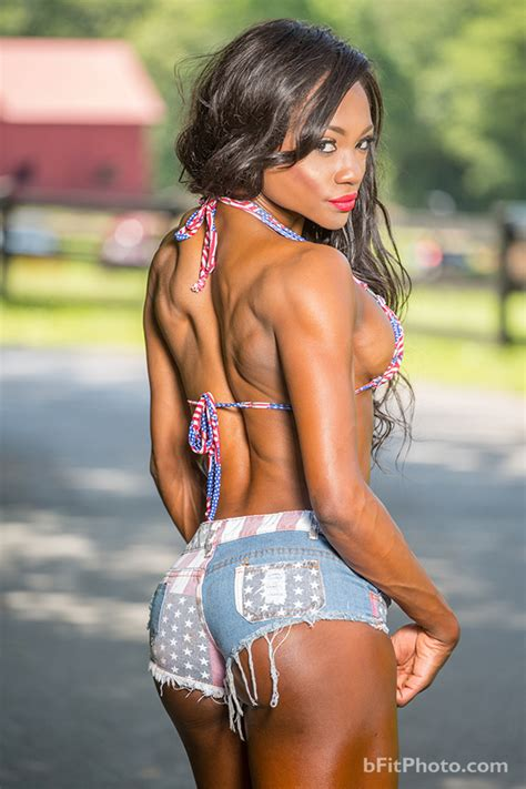 NPC Bikini Competitor Marie Blanchard Photo Gallery by