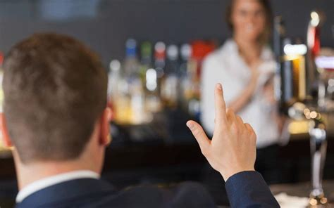 Want to get served first at the bar? Don't get your cash out