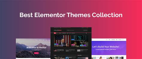 20+ Best WordPress Elementor Themes for Efficient Page