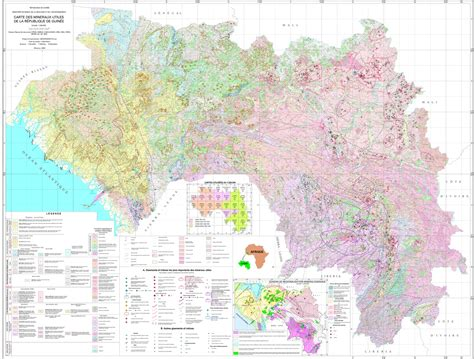 Cartographies - Ministry of Mines and Geology | Republic