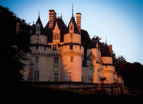 CHATEAU D'USSE: in RIGNY-USSE, The Loire Valley, a journey