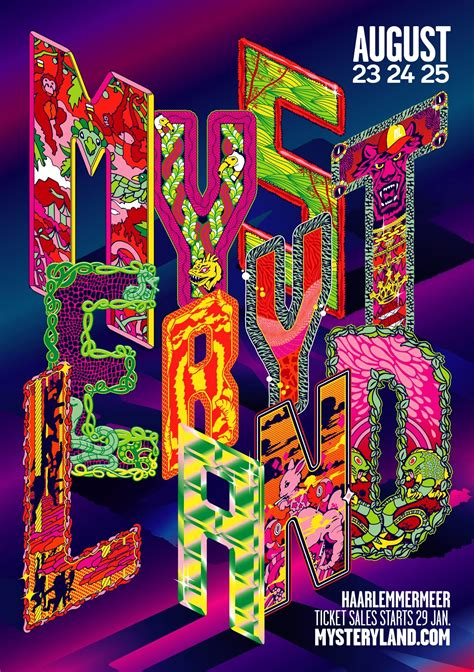 Mysteryland 2019 - Tickets, line-up, timetable