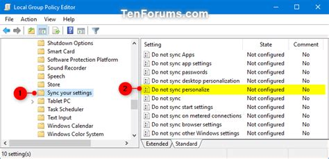 Enable or Disable Syncing Theme in Windows 10 Sync Your