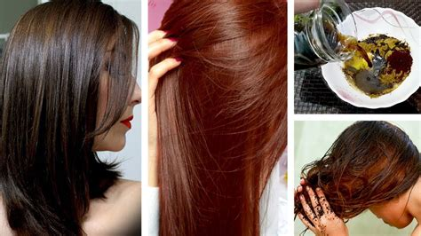 """HOW I ACHIEVED """"BROWN HAIR COLOR"""" 110% NATURAL & HOMEMADE"""