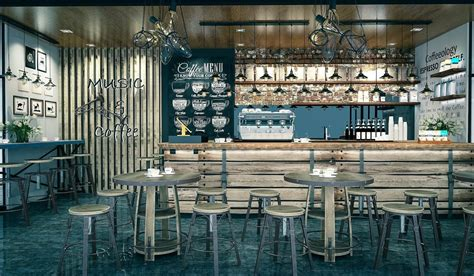 A simple coffee shop by Chrismas Ardianto at Coroflot