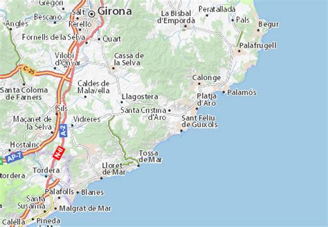 Golf Costa Brava Map: Detailed maps for the city of Golf