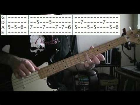 bass guitar lessons online Nirvana come as you are tab