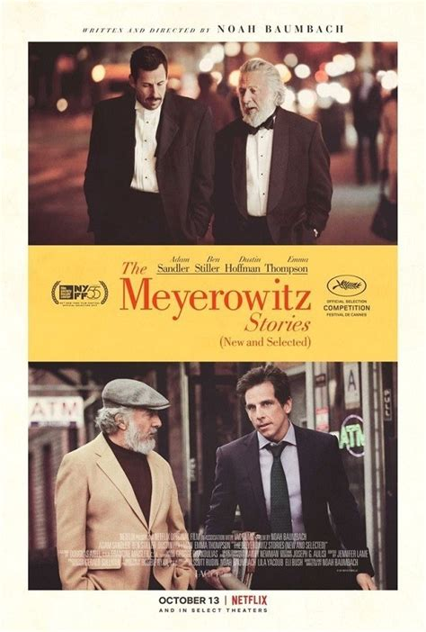 [Critique] THE MEYEROWITZ STORIES (NEW AND SELECTED) - On